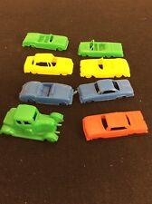 Lot of 8 - 1950s Plastic Toy Cars Corvette Lark Mercury Great Britain Ford