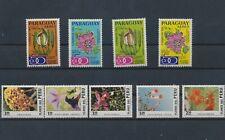 LN36266 Paraguay Peru plants flora nature flowers fine lot MNH