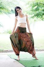 Harem Casual Trouser Boho Baggy Men Woman Yoga Indian Hippie Gypsy Pants G8028