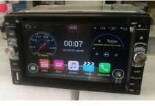 Autoradio 2DIN Universale GPS Mappe Europa Android 7.0 WiFi Mirror Link Display