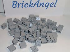 NEW LEGO Light Bluish Gray 1X2X1 2/3 Bricks Modified 4 Studs on 1 Side X50 22885