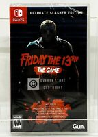 Friday The 13th The Game Ultimate Slasher Edition - Nintendo Switch - New