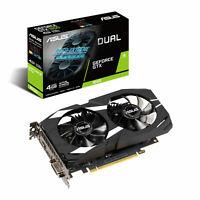 new ASUS NVIDIA GeForce GTX 1650 4GB DUAL Turing Graphics Card