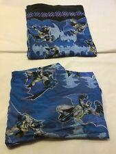 Batman DC Comics Super Hero Full / Flat Sheet Set Vintage Craft Fabric Cartoon