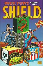 **NICK FURY AGENT OF SHIELD: WHO IS SCORPIO TPB GRAPHIC NOVEL**(2000 MARVEL)**NM