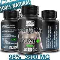 Tribulus Terrestris MAX 96% Saponins 3600 mg Caps Anabolic Testosteron Booster