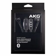 AKG K374BT High Performance Bluetooth Wireless Stereo In-Ear Headset - Silver