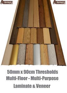 New Quality Laminate Threshold Door Strips 50mm Adjustable Height & Pivot 0.9mtr