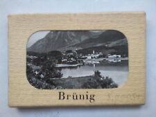BRUNIG SWITZERLAND.MINI PHOTOGRAPH SET,10 DELUX,1940-50 ?,WEHRLI ZURICH