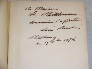 Léon Boucher WILLIAM COWPER - SA CORRESPONDANCE ET SES POESIES 1874 ENVOI