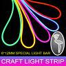 1/2/3/4/5M LED Neon Rope Light Flex Strip Party Bar Garden DIY Decor Waterproof