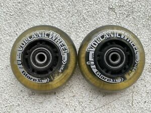 Light up wheelchair front caster wheels .Pair .Quickie,Tilite,Invacare
