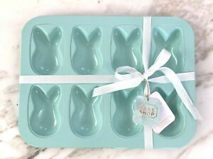 THE BAKE SHOP BY MASTER CLASS 8-CUP BUNNY CAKE PAN NO-STICK COATING New