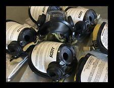 NEW Scott AV3000 Comm Brkt Grey Nosecup KevlarHeadNet SCBA Mask 805773-75 SzMed
