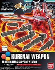 BANDAI HGBC Kurenai Weapon Gundam Build Fighters Try 1/144 Scale kit red warrior