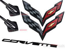 C7 Corvette Stingray 2014+ Carbon Flash Metallic Emblem Package