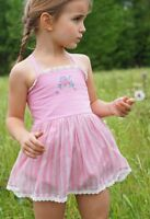 NWT WDW Well Dressed Wolf Pink Skirted XO Bubble Romper Size 3 years
