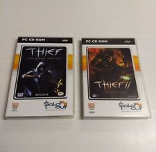 NEW Thief: The Dark Project and Thief 2: The Metal Age PC CD-ROM Video Games