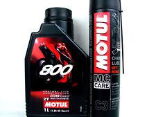 Aceite para Motos motul 800 Carretera Carreras Factoría Line 1L de + Grasa