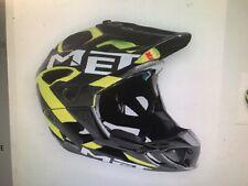 MET Parachute Fullface Mountainbike//Downhill-Helm mit festmontiertem Kinnbügel
