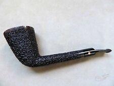 Moretti Pipe Fantastic Black Rusticated Long Shank Freehand