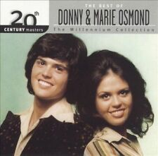 """DONNY & MARIE OSMOND, CD """" THE MILLENNIUM COLLECTION"""" NEW SEALED"""