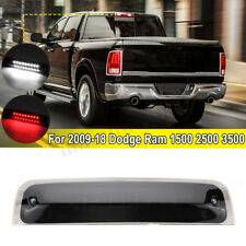 For 2009-2018 Dodge RAM 1500 2500 3500 LED Smoke 3rd Third Brake Cargo Light