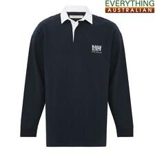 RM Williams Classic RMW Rugby Jumper Navy