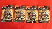 4 HALO Mega Construx Maverick Series, Figures SEALED, NO DUPLICATES