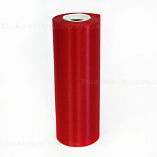 "8"" Wide Red Ceremonial Ribbon for Grand Opening Ceremony 20 Yard Roll"