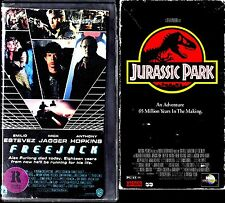 Freejack (VHS, 1992) & Jurassic Park - 2 SCI-FI VHS