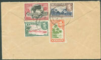 BRITISH CEYLON TO AUSTRALIA Air Mail Cover VF