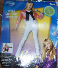 NWT DISNEY HANNAH MONTANA POP STAR DRESS UP OUTFIT COSTUME GIRLS 7 8