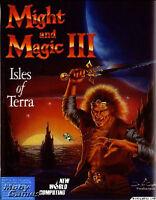 MIGHT & MAGIC III 3 ISLES OF TERRA +1Click Windows 10 8 7 Vista XP Install