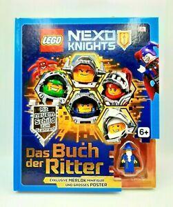 Original Lego Nexo Knights Buch - Das Buch der Ritter - Exklusive Merlok Figur