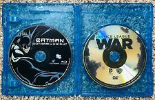 Batman Gotham Knight Blu-ray & Justice League War DVD Action Cartoon 2-Pack