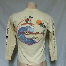 VTG 80s Walt Disney World Mickey Mouse T Shirt Productions Donald Duck Medium