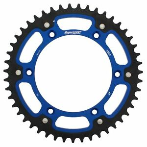 New - Blue Stealth sprocket 47T Chain Size 520