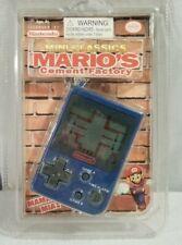 New Sealed Nintendo Mini Classics Mario's Cement Factory Keychain Game 1998