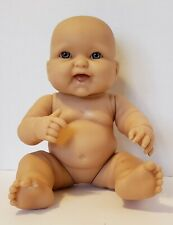 Berenguer Newborn Baby Doll Vinyl Body~Blue Eyes - 13 inch