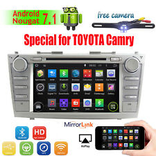 8''2Din Android 7.1 Car DVD Player Radio BT For Toyota Camry 2007-2011 GPS Navi