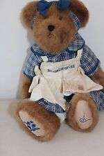"Boyds Bears Muffin B. Bluebeary Bear 15"" With Tag L#766"