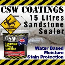 15L Sandstone Sealer - Moisture Stain Protection - Non Slip - Water Based