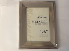 Saxophone TG284 Fine English Pewter On A PICTURE FRAME SILVER 6X4 Hang/Stand