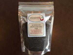 Alderwood Smoked Sea Salt 4 Oz ( Medium Fine Grind )