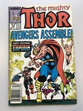 The Mighty Thor #390 (1988, Marvel) 1st Cap Lifts Mjolnir! Avengers