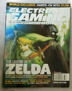 June 2005 ELECTRONIC GAMING MONTHLY #192  THE LEGEND OF ZELDA
