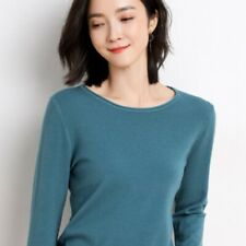 Fall Womens Lazy Cashmere Pullove Turtleneck Jumper Wool Sweater Casual Slim Top