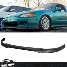 Fit for 92-95 Honda Civic EG HATCHBACK Coupe Front Bumper Lip Spoiler Bodykit PU