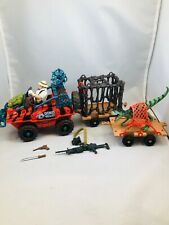 Dino Valley Playset with Skinnybones McButt Figure Loose Complete